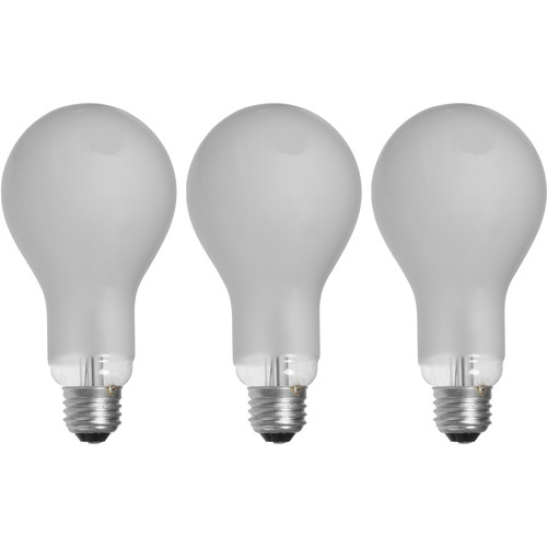 Smith-Victor ECT (500W/120V) Lamp (Pack of 3)