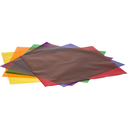 """Smith-Victor Rainbow Pack Color Filter Effect Gels 12 x 12"""""""
