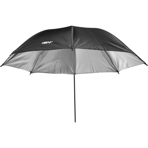 "Smith-Victor 32BS 32"" Black/Silver Umbrella"