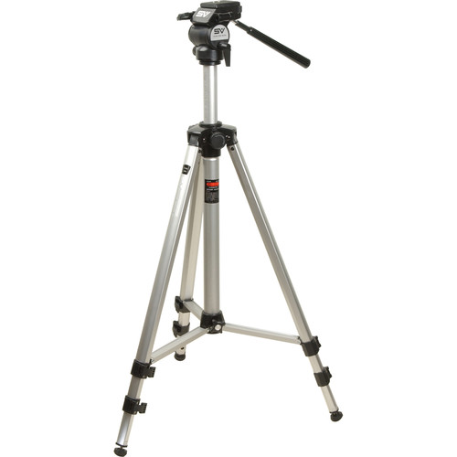 Smith-Victor Titan 3000 Imperial Deluxe Tripod with 2-Way Fluid Head
