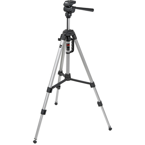 Smith-Victor P820 Pinnacle Tripod with 2-Way, Pan-and-Tilt Head
