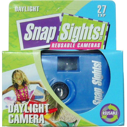 Snap Sights Daylight 35mm Point & Shoot Camera