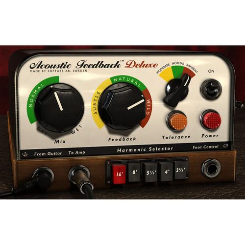 Softube Acoustic Feedback Deluxe - Guitar Feedback Simulator Plug-In (TDM)