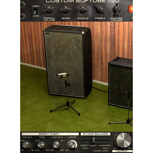 Softube Bass Amp Room - Bass Amplifier and Speaker Emulation Plug-In (Native)