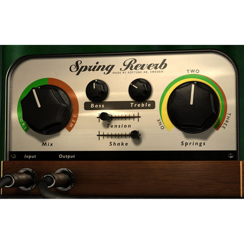 Softube Spring Reverb - Spring Reverb Emulation Plug-In (Native)