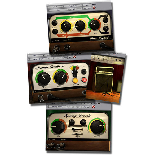 Softube Effects Bundle - Delay/Feedback/Reverb Plug-In Bundle Upgrade (Native)
