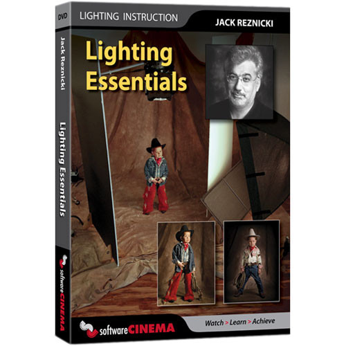 Software Cinema DVD-Video: Training: Lighting Essentials by Jack Reznicki