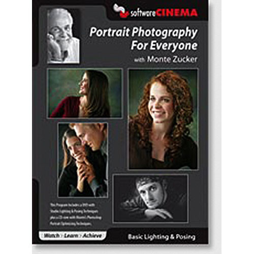 Software Cinema DVD-Rom: Training: Portrait Photography For Everyone