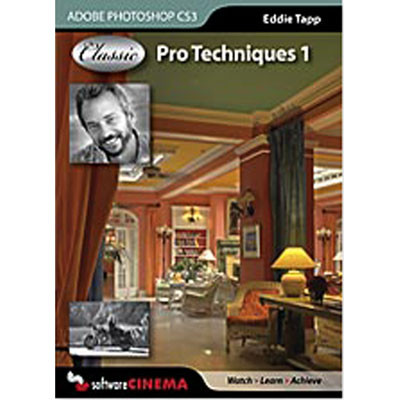 Software Cinema DVD-Rom: Training: Classic Pro Techniques 1 CS3 with Eddie Tapp