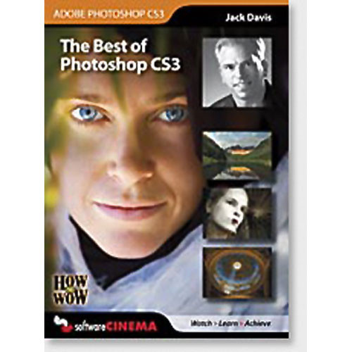 Software Cinema CD-Rom: Training: How to Wow - Best of Photoshop CS3 by Jack Davis