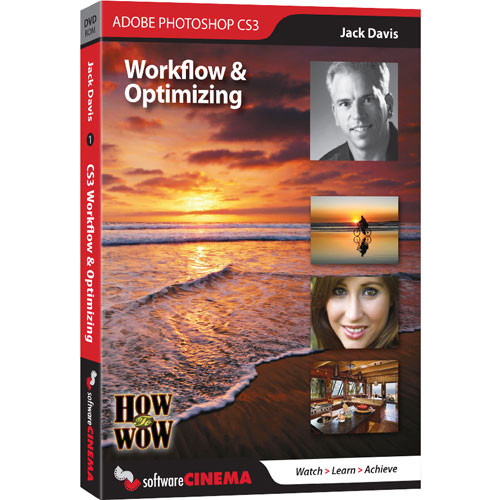 Software Cinema DVD-Rom: Training: How to Wow - Retouching & Repairing CS3 by Jack Davis