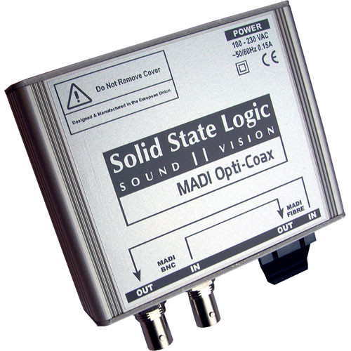 Solid State Logic MADI to Coax Converter