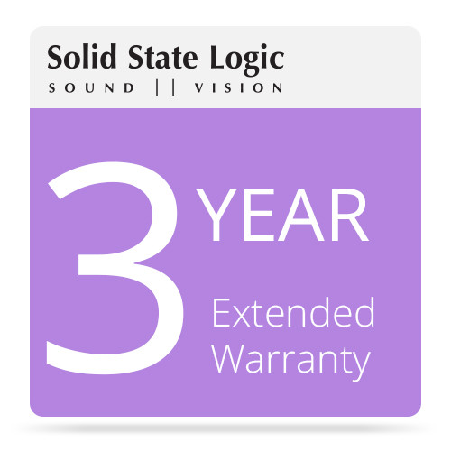 Solid State Logic 3-Year Extended Warranty for Matrix