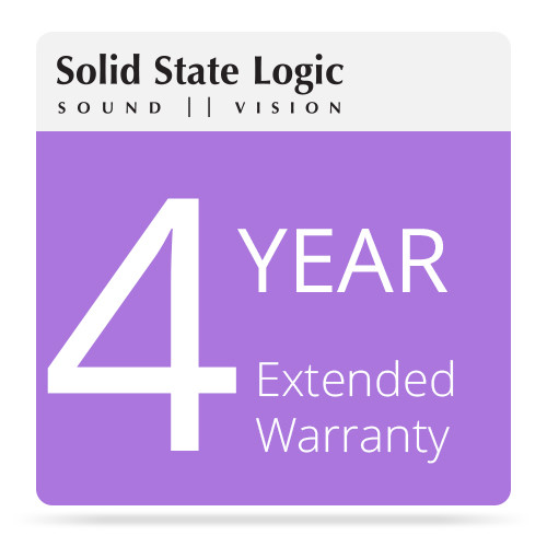 Solid State Logic 4-Year Extended Warranty for Matrix