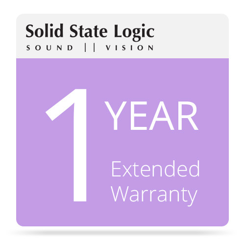 Solid State Logic 1-Year Extended Warranty for Matrix