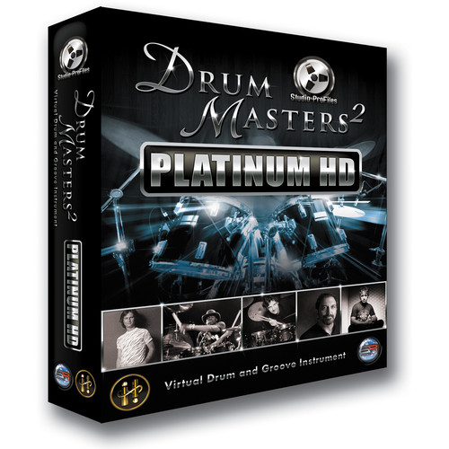 Sonic Reality Drum Masters 2 Multitrack Platinum HD - Virtual Drum and Groove Instrument