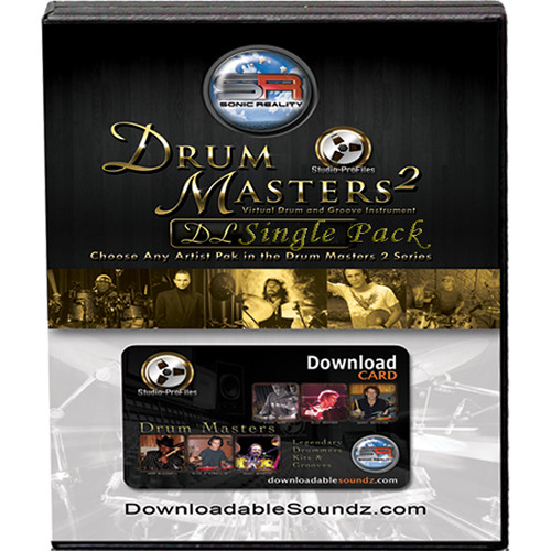 Sonic Reality Drum Masters 2 Artist Drummer Pack - Expansion Pack