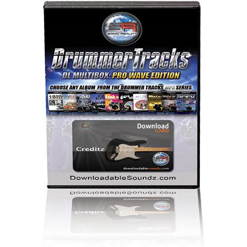 IK Multimedia DrummerTracks DL Multibox (Pro Wave Edition) - Download Card
