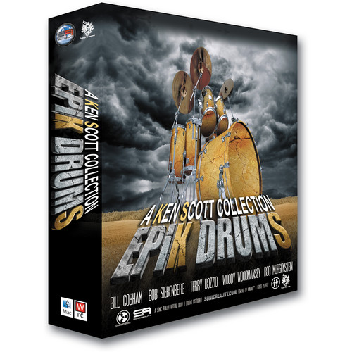 Sonic Reality EpiK DrumS SE - A Ken Scott Collection (DVD)