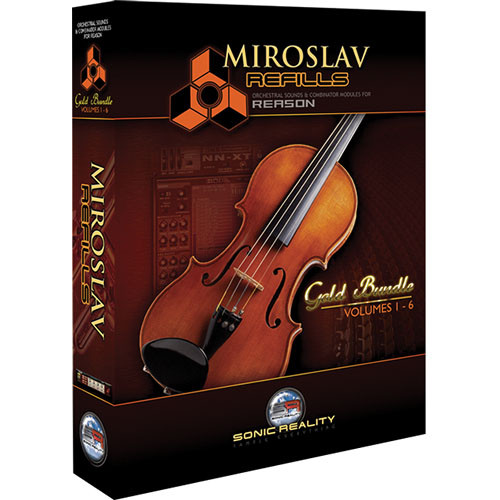 Sonic Reality Miroslav Refills Gold - Orchestral Sound Libraries