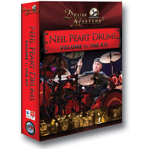 Sonic Reality Neil Peart Drums Vol 1: The Kit - Drum Sample Library
