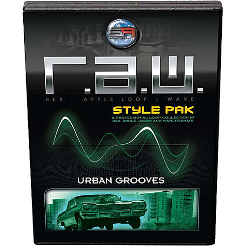 Sonic Reality R.A.W. Style Pak: Urban Grooves