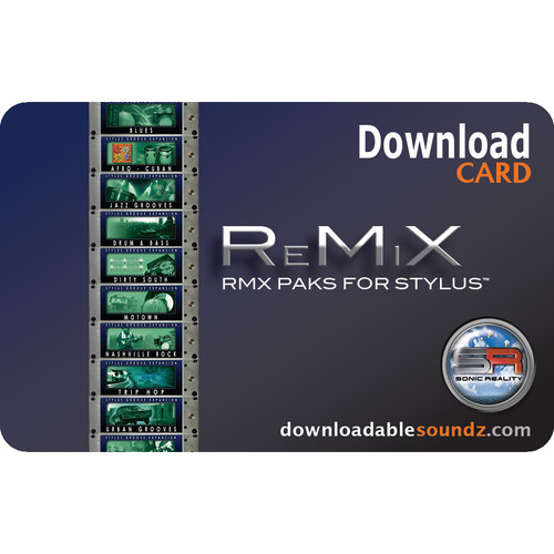 Sonic Reality ReMiX DL Multibox Loop Library Download Package