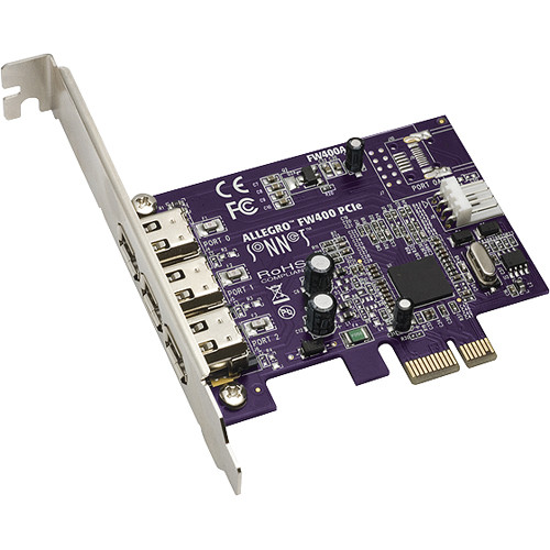 Sonnet Allegro FireWire 400 PCIe Card (3-Port)