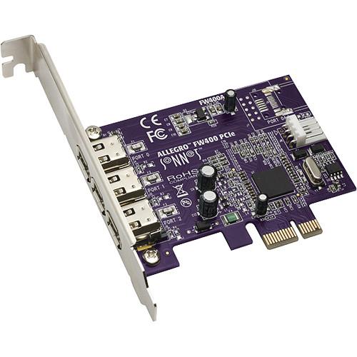Sonnet Allegro FireWire 400 PCIe Card (3-Port)
