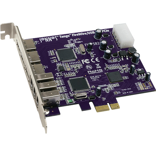 Sonnet Tango PCIe FireWire 400/USB 2.0 Adapter Card