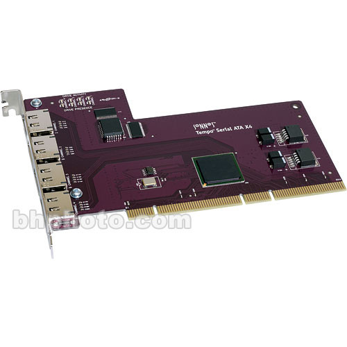 Sonnet Tempo SATA X4p Serial ATA Host Adapter for PCI-X