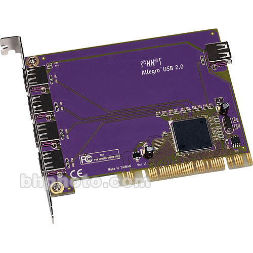 Sonnet Allegro USB 2.0 5-Port PCI Adapter