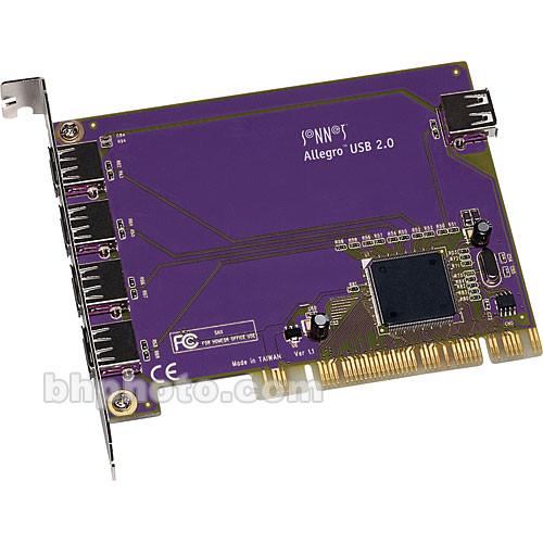 Sonnet Allegro USB 2.0 5-Port PCI Adapter