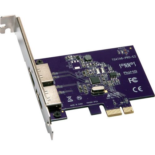 Sonnet 2 Port Tempo SATA Pro 6 Gb PCI Express 2.0 Card