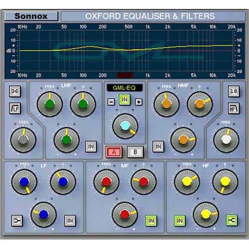Sonnox Oxford EQ - EQ Plug-In (TDM)