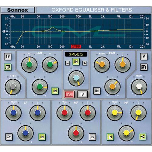 Sonnox Oxford / GML 8200 Option - Add-On for Oxford EQ Plug-In (TDM)