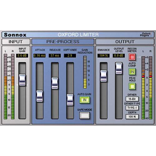 Sonnox Oxford Limiter - Limiter Plug-In (Native)
