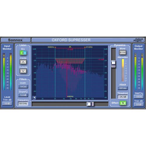 Sonnox Oxford SuprEsser - De-Esser and Dynamic EQ Plug-In (Native)