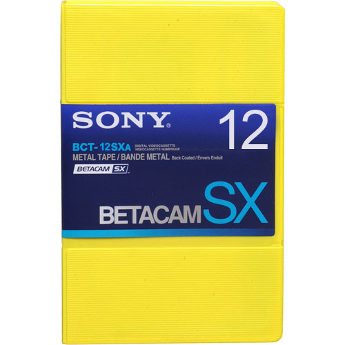 Sony BCT-12SXA Betacam SX Cassette