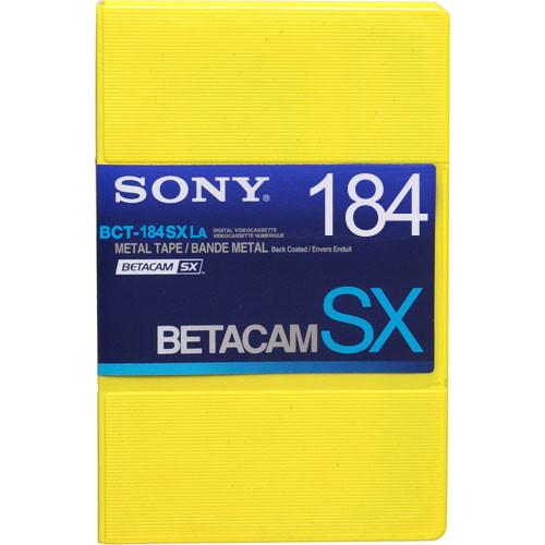 Sony BCT-184SXLA Betacam SX Cassette