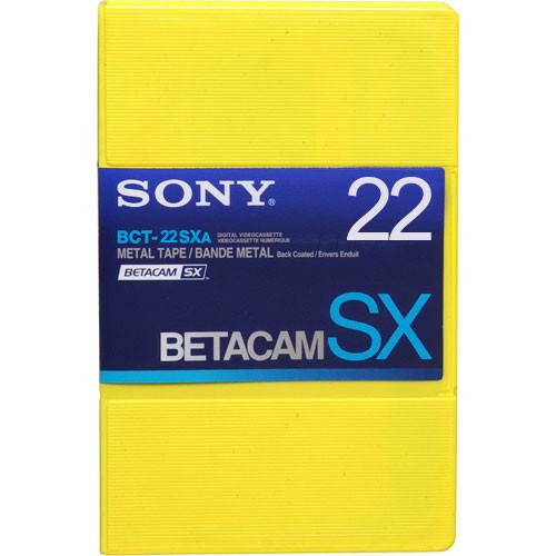 Sony BCT-22SXA Betacam SX Cassette