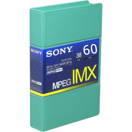 Sony BCT60MX MPEG IMX Video Cassette, Small