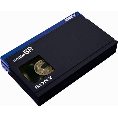 Sony BCT-64SRL/4 HDCAM SR Videocassette, Large