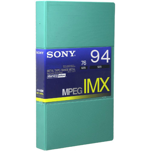 Sony BCT94MXL MPEG IMX Video Cassette, Large