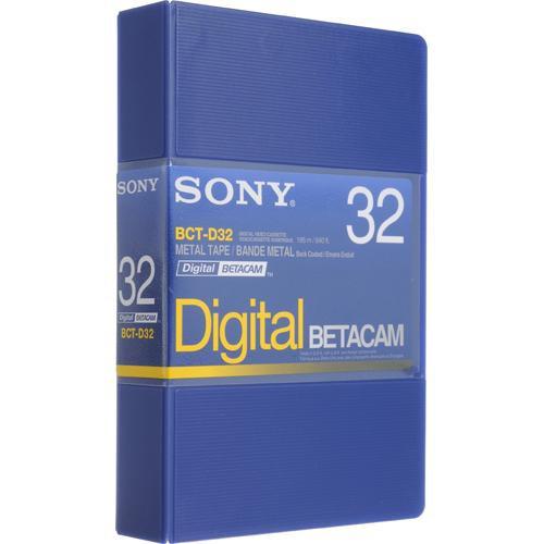 Sony BCT-D32 32 Minute Digital Betacam Cassette