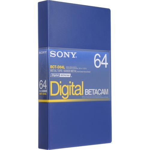 Sony BCT-D64L 64 Minute Large Digital Betacam Cassette