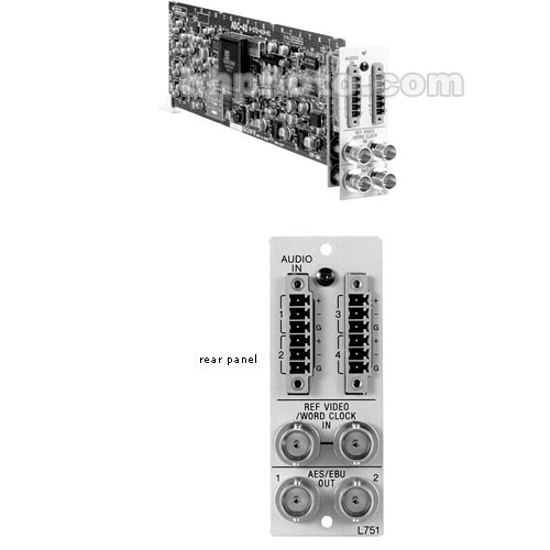 "Sony BKPF-L751 Analog Audio to AES/EBU Conversion Board for PFV-L10 19"" Rack Mountable Compact Interface Unit"