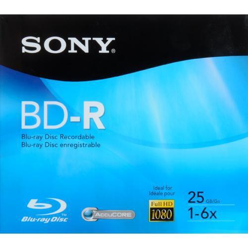 Sony BNR25R3H BD-R Blu-ray Recordable Disc