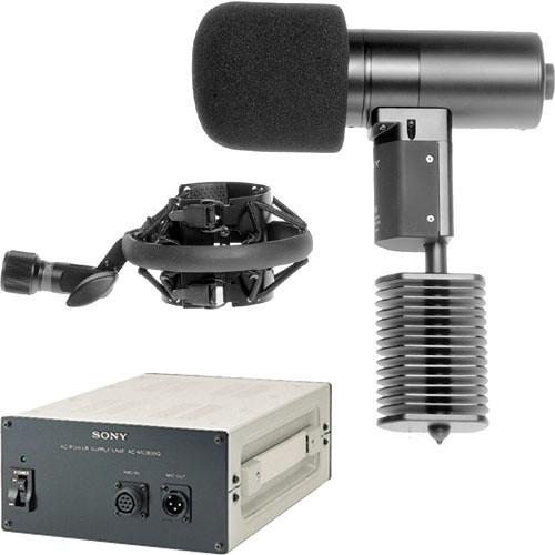 Sony C-800G Studio Tube Condenser Microphone PAC