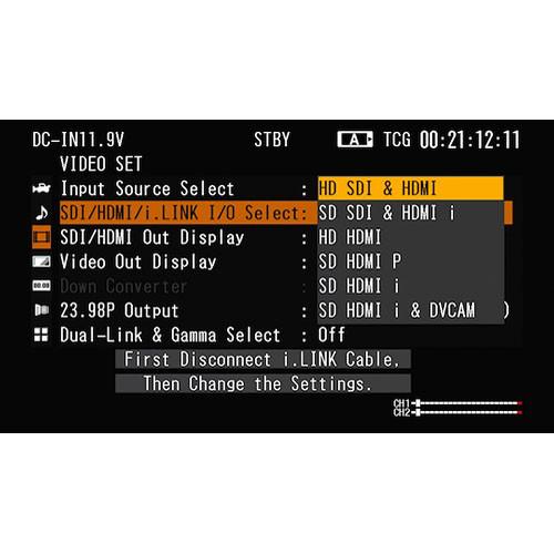 Sony CBK-RGB01 S-Log Gamma Option for PMW-F3 Camera